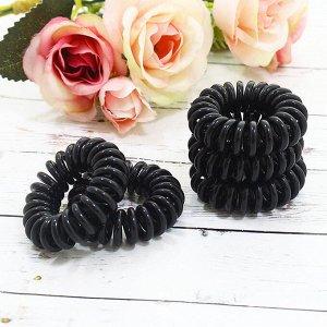 Резинки для волос в черная V9534