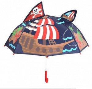 """Зонт-трость """"Пиратский корабль"""""""
