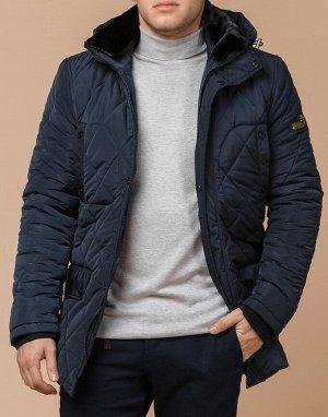 Куртка светло-синего цвета качественная модель 44842