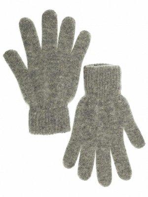Шерстяные перчатки молочного цвета
