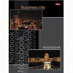 Блокнот 80 л. А5 Business city клетка 08959 Hatber