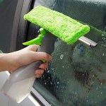 Щетка-водосгон для окон с распылителем Spray Window Cleaner