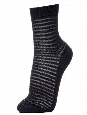 Носки женские(в тонкую вывязаную полоску)