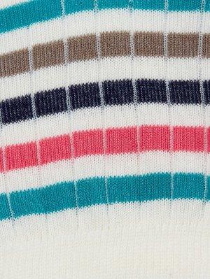 Носки женские (в цветную полоску)
