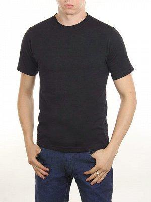 3366-1 футболка мужская, темно-синяя