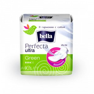 Bella Perfecta Ultra Green Silky drai 10 шт