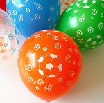 """Резиновый шарик """"Футбольный мяч"""""""