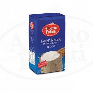 Farina bianca 00 Мука пшеничная для любых типов приготовлений 1000 г.
