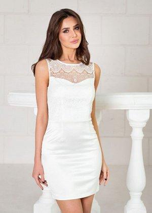 Платье мини цвет Айвори