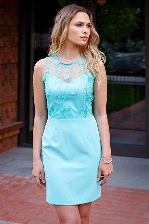Платье-трансформер цвет мята (П-30-12)