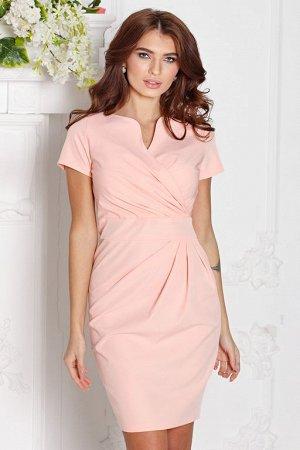 Платье Злата цвет персик (П-26-6)