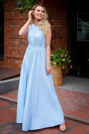 Платье Амелия нежно-голубой (П-36-6)