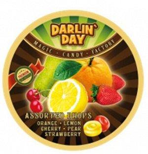 Darlin Day Карамель, ассорти: лимон, апельсин, клубника, вишня, груша (Океанариум) 180гр ГВЛ3 1'12шт