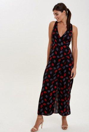 Платье пляжное жен. MILLA черный принт