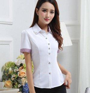 Блузка женская с коротким рукавом