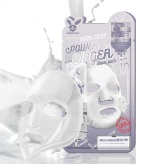 НАБОР Тканевая маска для лица МОЛОКО Milk Deep Power Ringer Mask Pack, 10 шт
