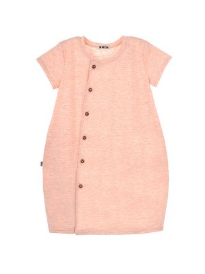 Платье 978 розовый меланж