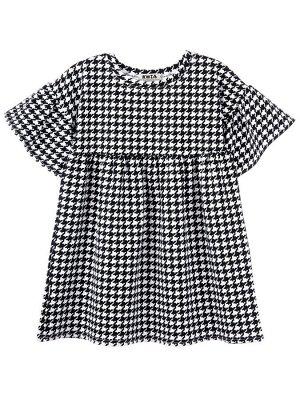 Платье 977 черно-белый