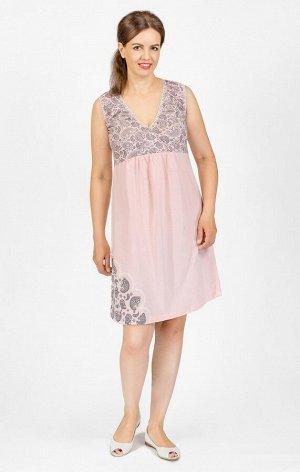 Сорочка для беременных, розовый (19501-3)