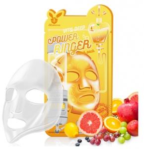 НАБОР Тканевая маска для лица ВИТАМИНЫ Vita Deep Power Ringer Mask Pack, 10 шт