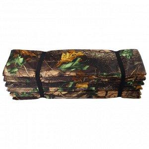 Коврик туристический складной, фотопринт, размер 180 х 60 х 1,5 см, цвет МИКС