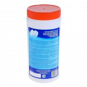 Средство для комплексной обработки воды плавательных бассейнов Мультиэкт 5в1, таблетки, 1 кг   44047