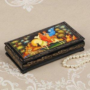 Шкатулка - купюрница «Сказка», 8,5?17 см, лаковая миниатюра