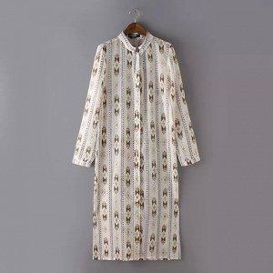 длинная  рубашка - Коллекция одежды*ZАRA - размер 46 -48- ЕСТЬ фото-