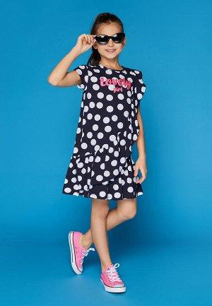 Платье детское для девочек Mirage 1 синий