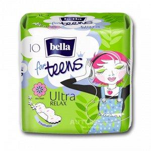 Bella For teens ultra relax deo супертонкие д/подростк. 10 шт