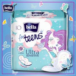 Bella For teens ultra sensitive супертонкие д/подростк. 10 шт