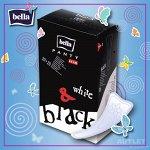 Bella Panty Слим Белые+Черные 40 шт