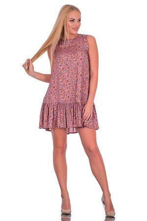Платье Цвет розовый. Комплектация платье. Состав полиэстер - 62%, вискоза - 34%, эластан - 4%. Бренд