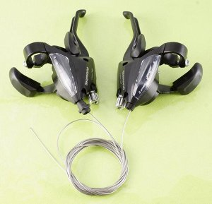 Рукоятка переключателя SHIMANO ASTEF5002LSBL-L 3SP (1800mm + ASTEF5002RV8AL-R   8SP 2050mm)