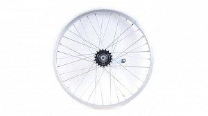 Колесо заднее в сборе на велосипед Гамма 20д.