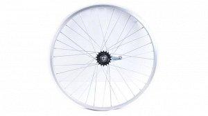Колесо заднее в сборе на велосипед Гамма 24д.