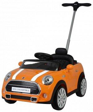 Машина для катания детей Толокар 3636 Mini Cabrio (оранж., красная, белая)
