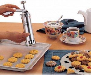 Шприц-пресс с насадками для печенья Biscuits