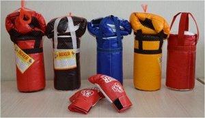 Боксерский набор №1 30 см*16 см, сетка.груша+перчатки
