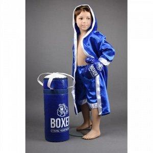 Боксерский набор №3 в подар. уп.28*51*23 см (цвет синий, красный)