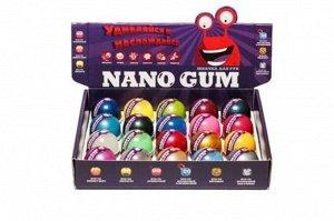 """Жвачка для рук """"Nano Gum""""  25 гр. 4,5*5 см"""