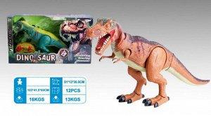 Динозавр р/у ,на бат., кор. 51*13*30,5 см.
