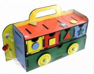 """Игра-логика """"Автобус""""  14,5*25,5*7,5 см"""