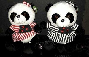 Мягкая игрушка Панда в платье, 35см.