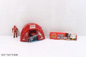 Набор Пожарные, 19*14*5см., пак.*
