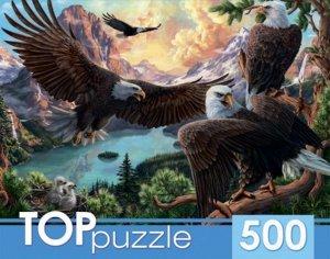 Пазлы 500 Орлы в горах