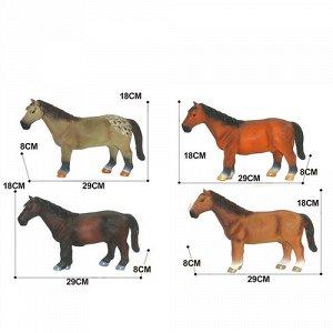 Фигурка Лошадь, в ассорт, 29 см, пак.