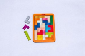 Тетрис малый Лего (дерево) 19,5*14,5*0,6 см