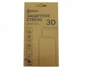 Защитное стекло iPhone 7/8/SE 2020 Крафт 3D белое