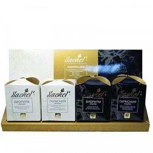Чайный набор Сашель 4 чая по 15 гр.